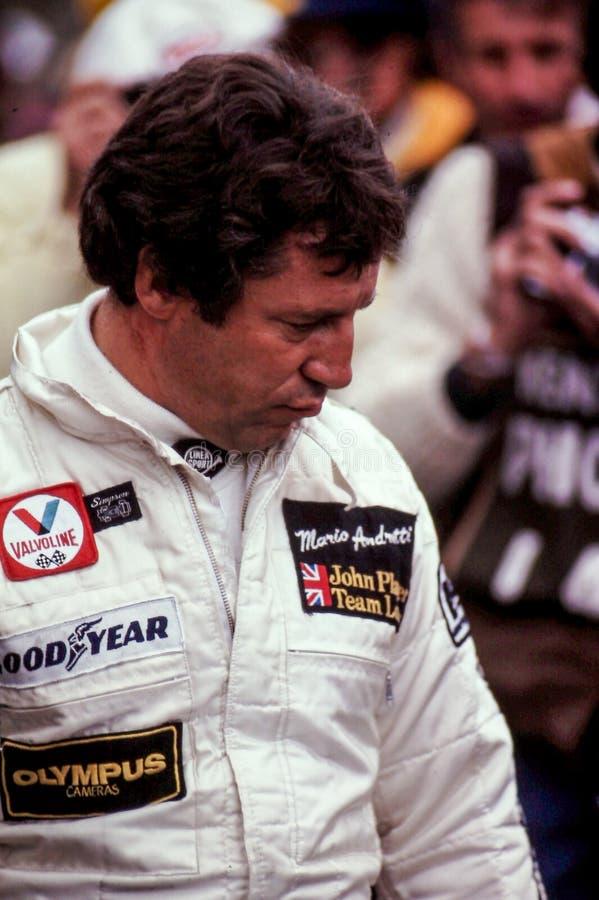 Mario Andretti στοκ φωτογραφία με δικαίωμα ελεύθερης χρήσης