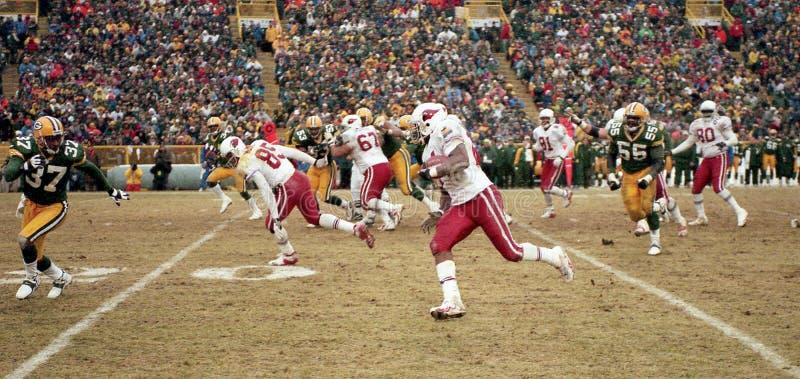 Mario Bates, RB dos Arizona Cardinals imagens de stock royalty free