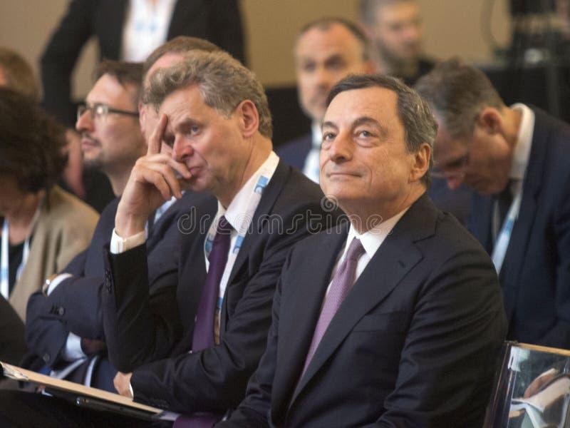 Mario Draghi lizenzfreie stockfotografie