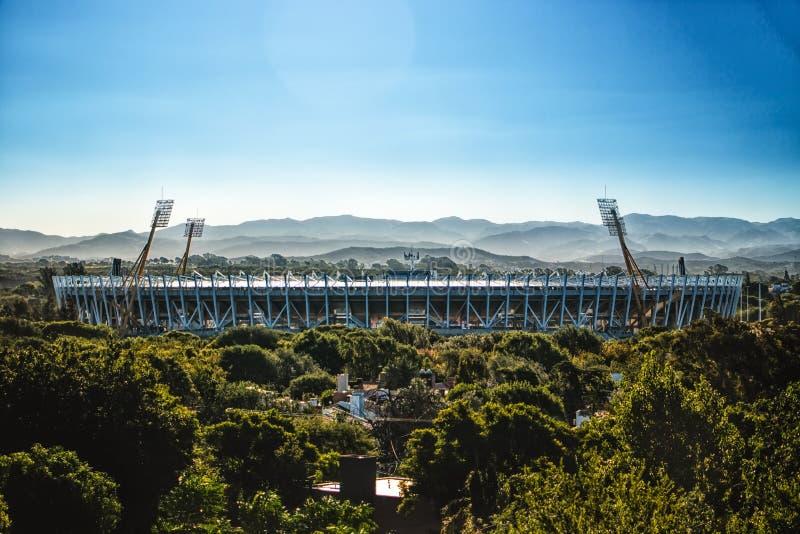Mario Kempes Stadium - Fußballstadion in Cordoba Argentinien stockfoto