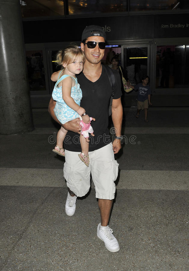 Download Mario Lopez With Niece At LAX Editorial Photography - Image: 15932477