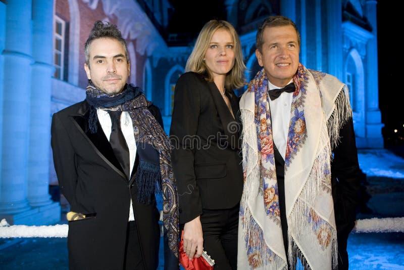 Mario Testino and Eva Herzigova