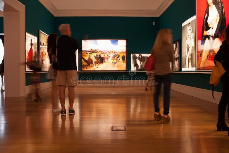 Mario Testino Exhibition, Buenos Aires royalty free stock photography