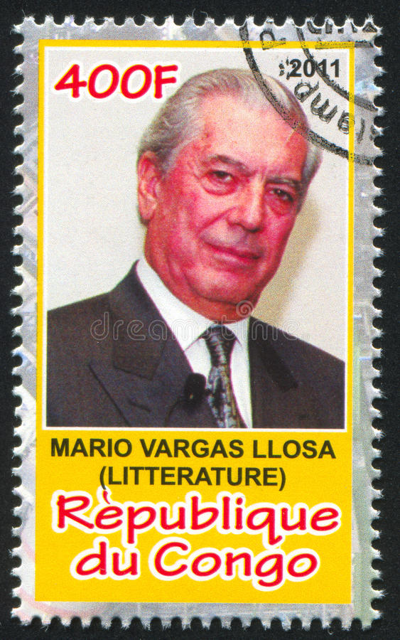 Mario Vargas Llosa στοκ εικόνες με δικαίωμα ελεύθερης χρήσης