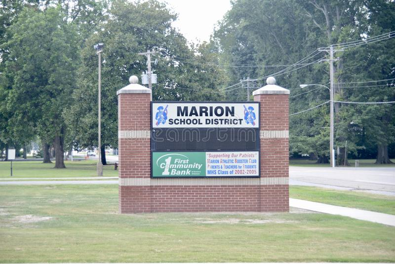 Marion Arkansas School District. Marion is a city in and the county seat of Crittenden County, Arkansas, United States. The population was 12,345 at the 2010 stock images