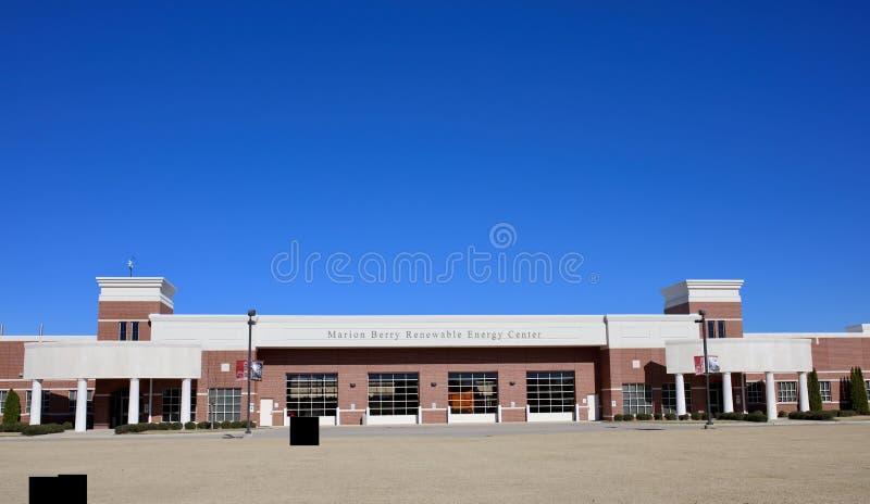 Marion Berry Center, West-Memphis, Arkansas stock fotografie