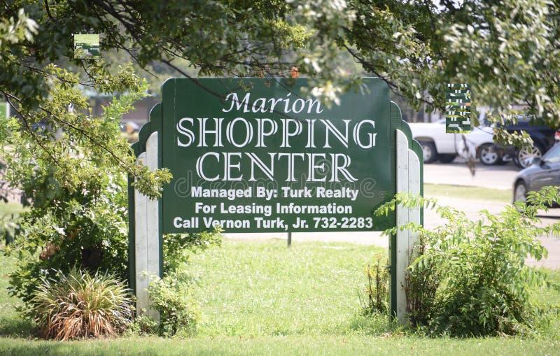 Marion Shopping Center västra Memphis, Arkansas royaltyfria foton