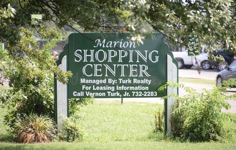 Marion Shopping Center, West-Memphis, Arkansas lizenzfreie stockfotos
