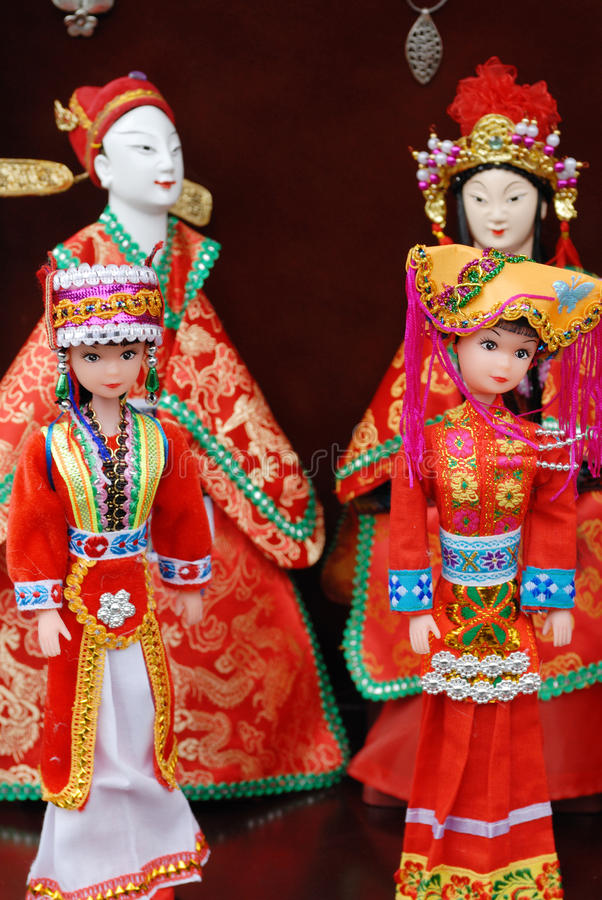Marioneta china de la ópera imagen de archivo