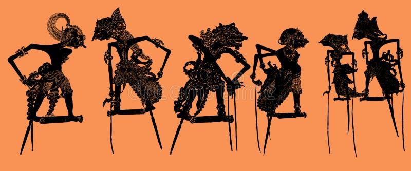 Marioneta de la sombra: Vector libre illustration
