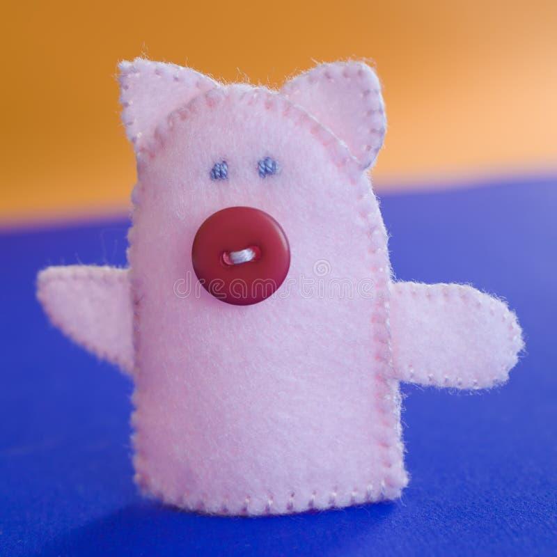 Marioneta del dedo imágenes de archivo libres de regalías