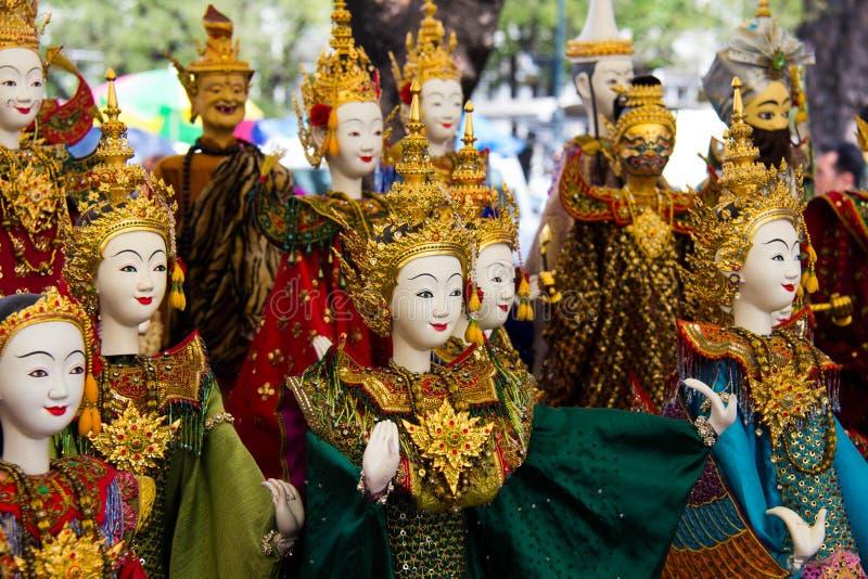 Marioneta tailandesa foto de archivo libre de regalías