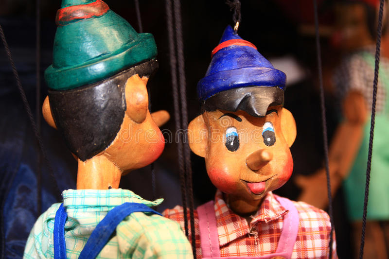 The marionette stock photo