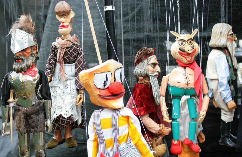 Marionette 3 royalty free stock images