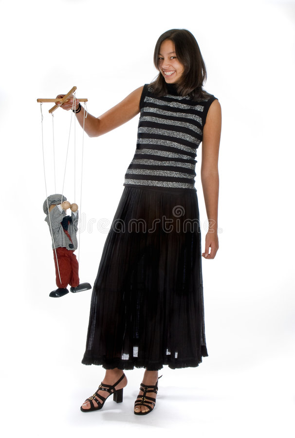 Marionette royalty free stock photos