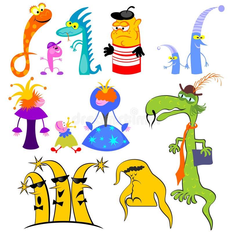 Marionettenerscheinen stock abbildung
