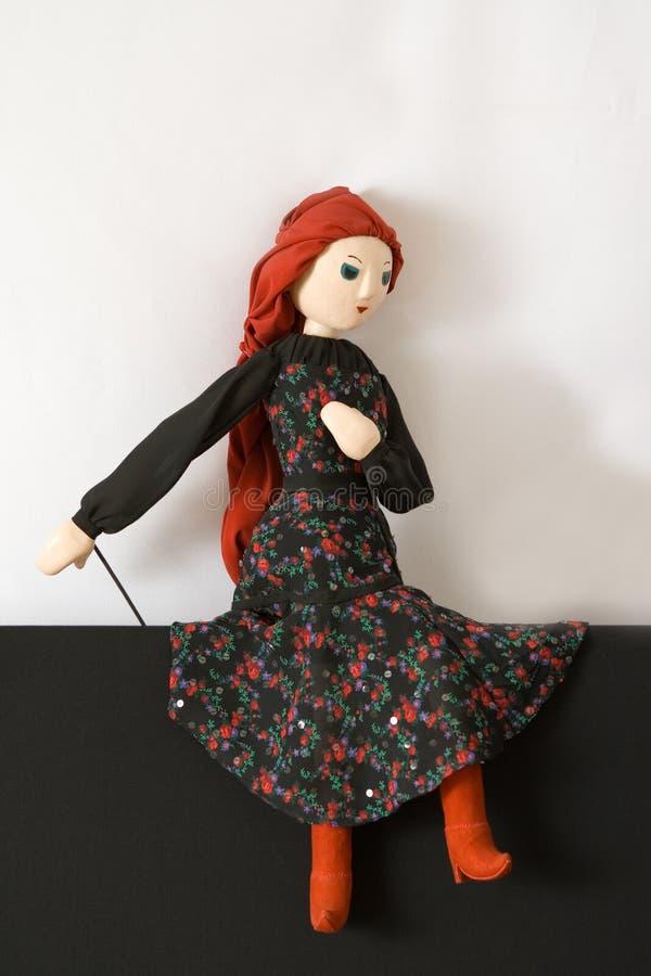 Marionettenmädchen lizenzfreie stockfotos
