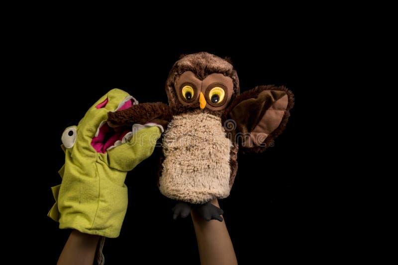 Marionettenshow lizenzfreies stockfoto