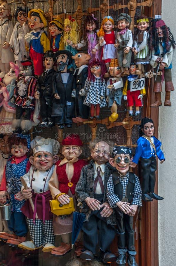 marionettes foto de archivo