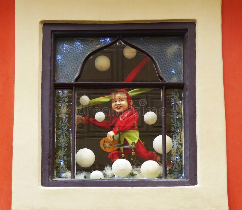 Marionnette célèbre de Prague, République Tchèque photos stock