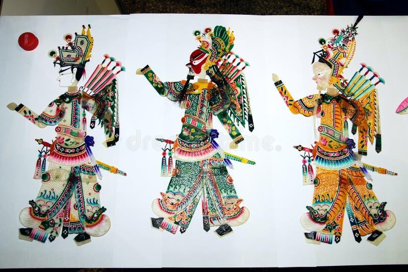 Marionnette d'ombre images libres de droits