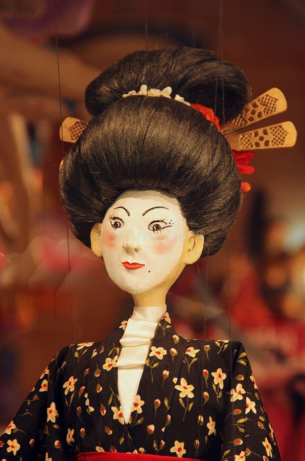 Download Marionnette de geisha photo stock. Image du figurine - 45359110