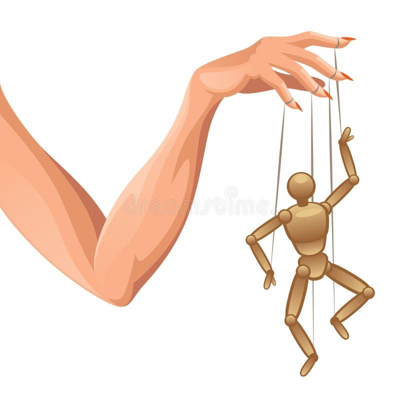Marionnette de main illustration de vecteur