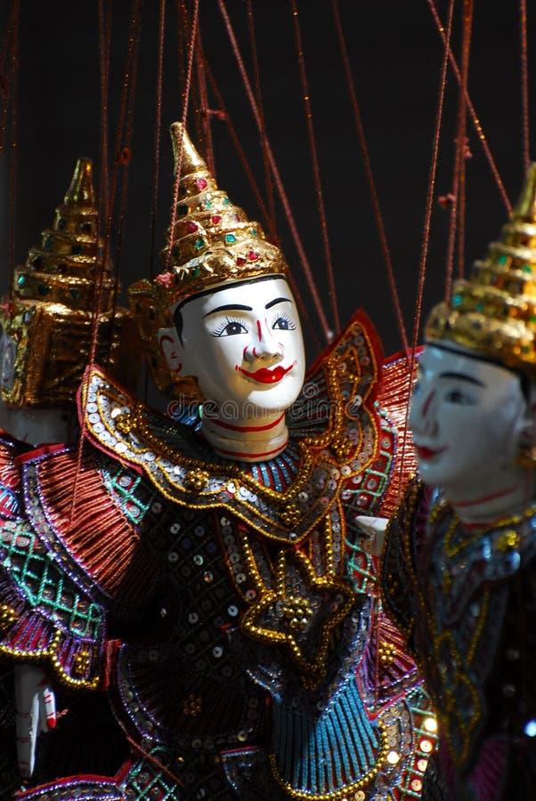 Marionnette de marionnette d'Asie du Sud-Est photos libres de droits
