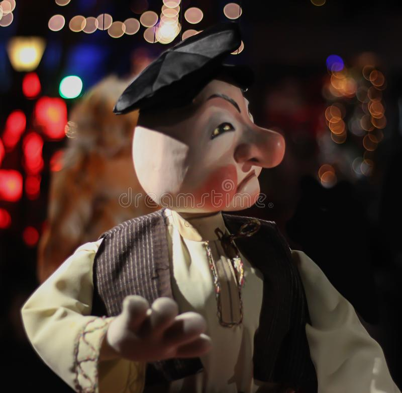 Marionnette de personnes - image photographie stock