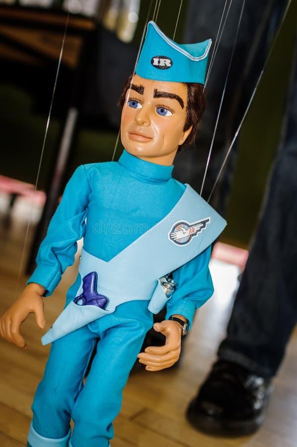 Marionnette de Thunderbirds images libres de droits