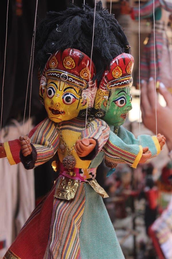marionnettes image stock