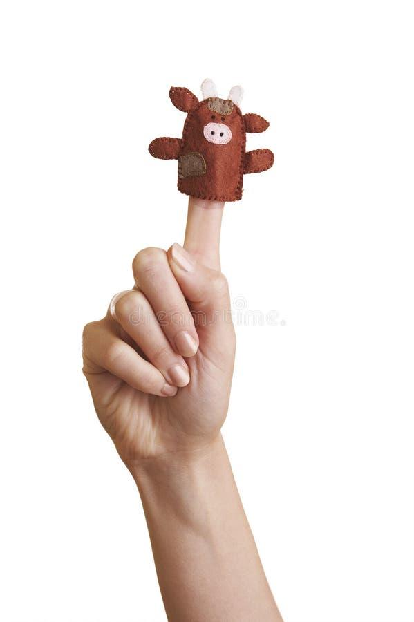 Marionnettes de doigt photographie stock libre de droits
