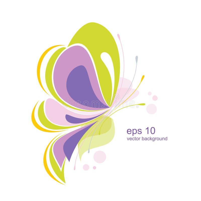 Mariposa abstracta libre illustration