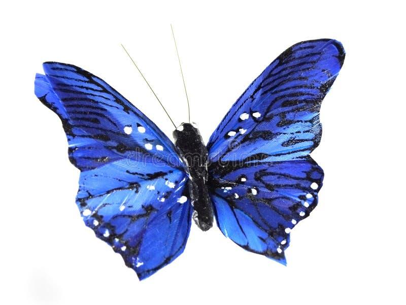 Mariposa azul ilustración del vector