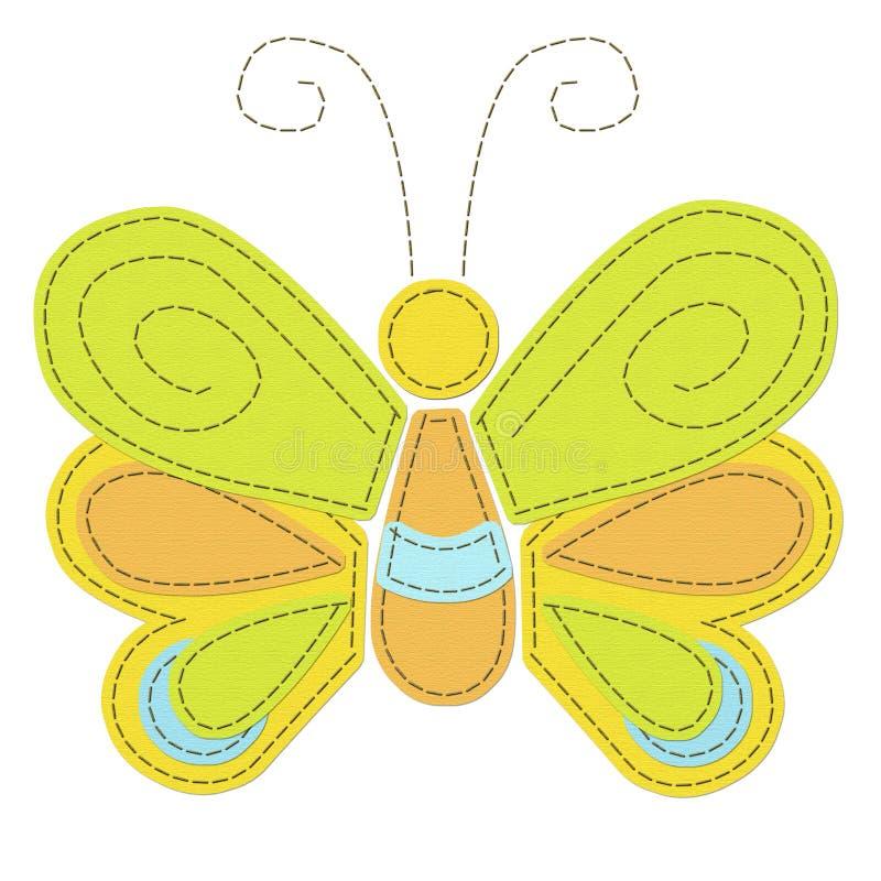 Mariposa cosida libre illustration