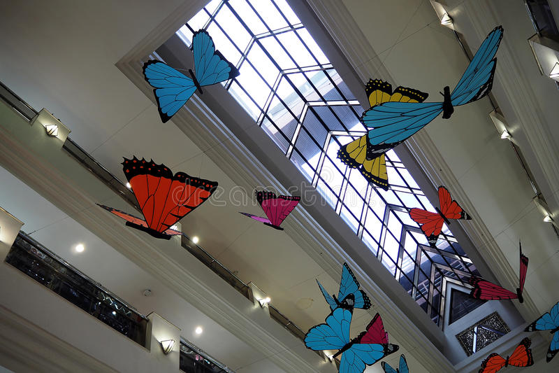 Mariposa falsa imagenes de archivo