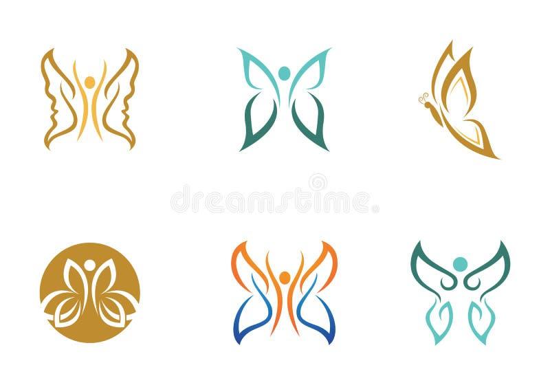 Mariposa Logo Template libre illustration