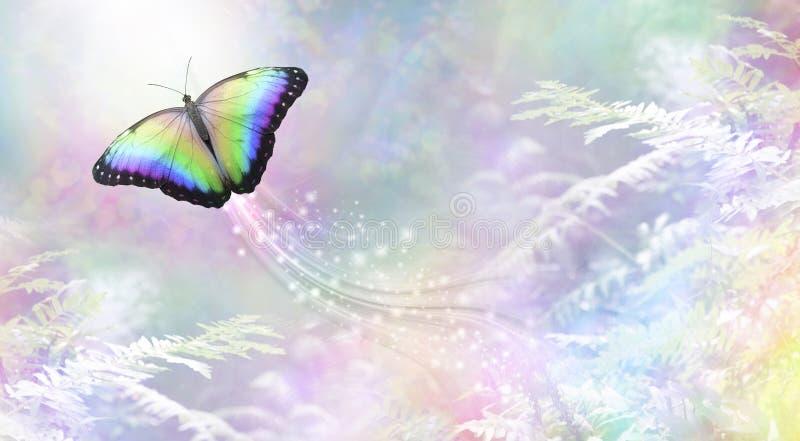 Mariposa metafórica en el alma de salida ligera libre illustration