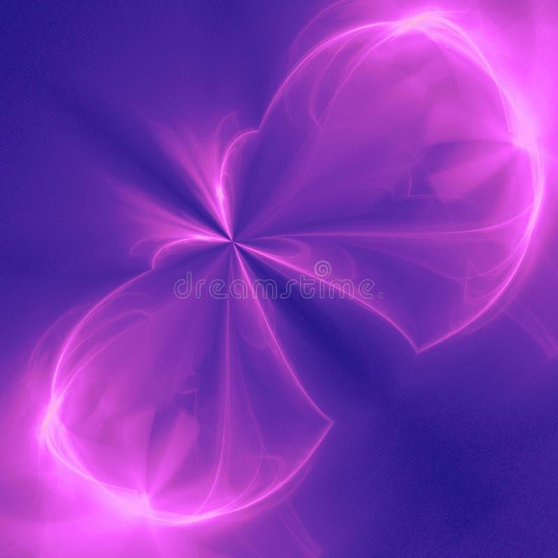 Mariposa rosada stock de ilustración