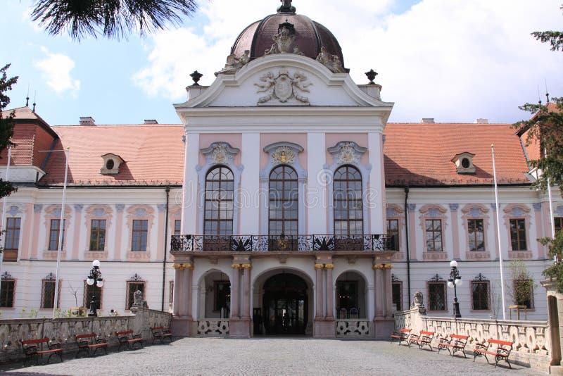 Mariquita Godollo Hungría del castillo foto de archivo