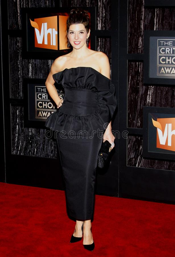 14th Annual Critics` Choice Awards. Marisa Tomei at the 14th Annual Critics` Choice Awards held at the Santa Monica Civic Center in Santa Monica on January 8 royalty free stock images