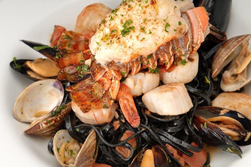 Marisco da lagosta com camarão foto de stock royalty free