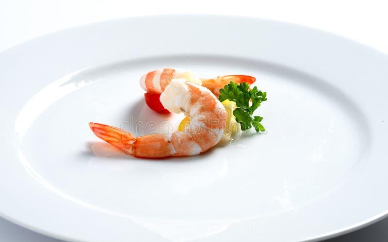 Marisco fresco do camarão fotos de stock royalty free