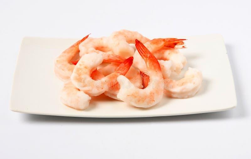 Marisco fresco do camarão fotos de stock