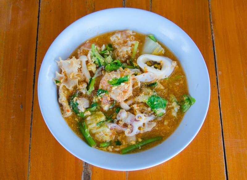 Marisco Sukiyaki foto de stock
