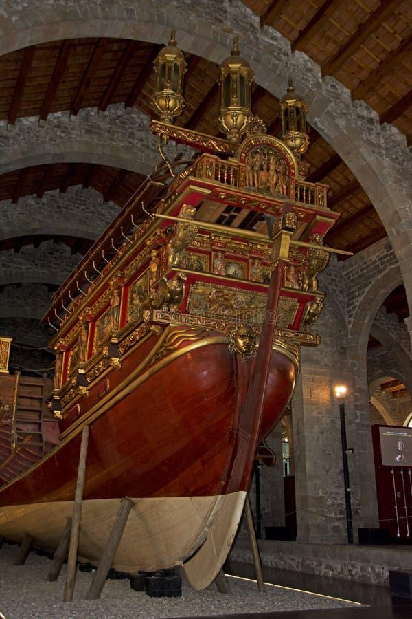 Maritiem Museum - Barcelona royalty-vrije stock afbeelding