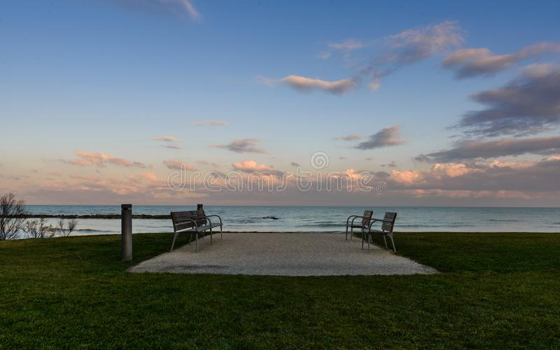 Maritime landscape. Italian maritime landscape sea landscape royalty free stock photo