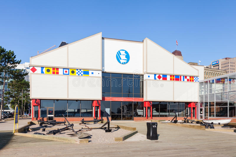 The Maritime Museum of the Atlantic. In Halifax, Nova Scotia, Canada royalty free stock photos