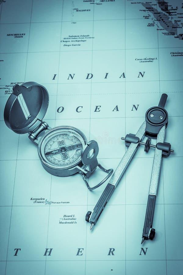 Maritime Navigation Stock Photo