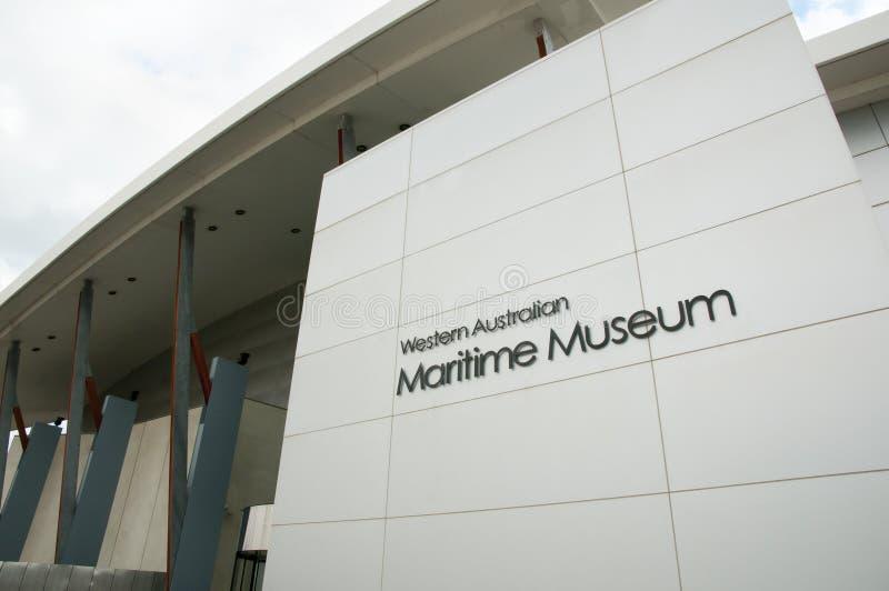 Maritimt museum arkivbild